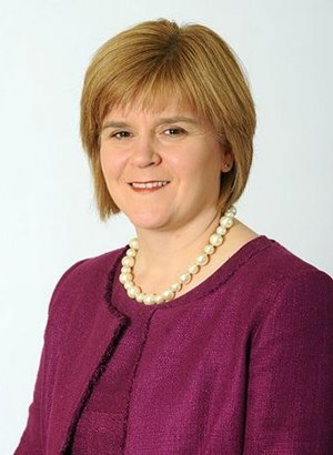 Nicola Sturgeon, scottish national Leader
